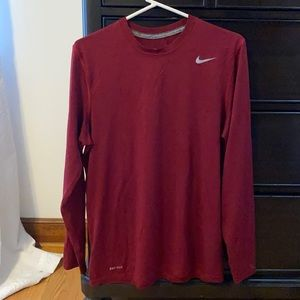 Nike Dri-fit long sleeve Tshirt